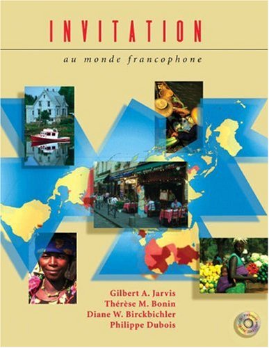9780030311215: Invitation au monde francophone (with Audio CD) (French Edition)