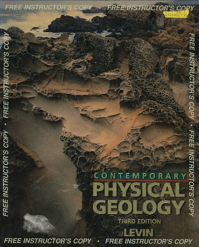 9780030311390: Contemporary Physical Geology (Saunders golden sunburst series)