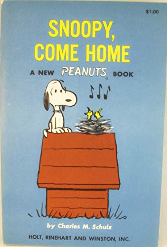"9780030311604: The ""Snoopy, Come Home"" Movie Book"