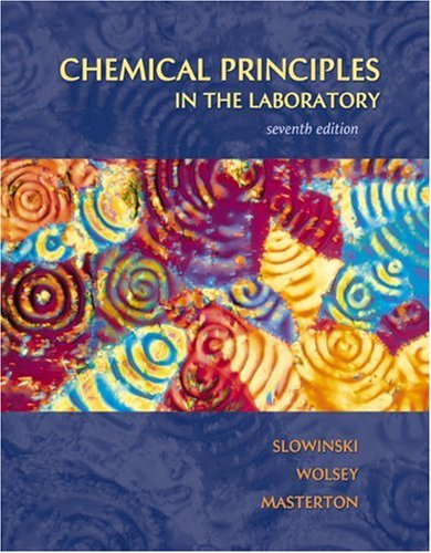 9780030311673: Chemical Principles in the Laboratory