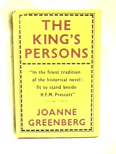 9780030311758: King's Persons