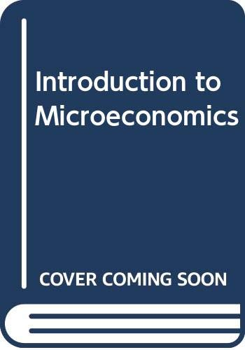9780030312199: Introduction to Microeconomics