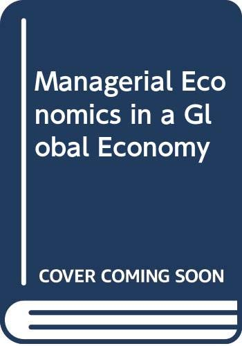 Managerial Economics in a Global Economy: Salvatore