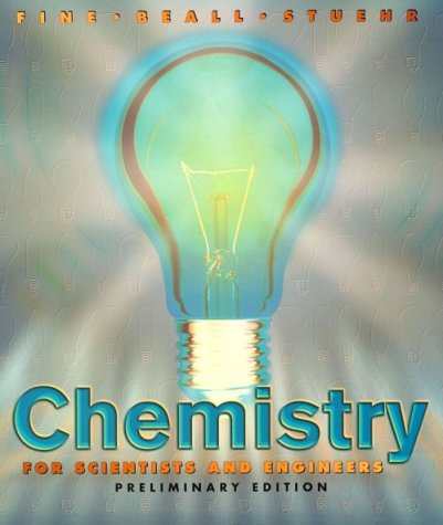 9780030312915: Chemistry for Scientists and Engineers, Preliminary Edition (Saunders Golden Sunburst Series)