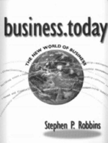9780030313226: business.today: The New World of Business (Harcourt Series in Finance)