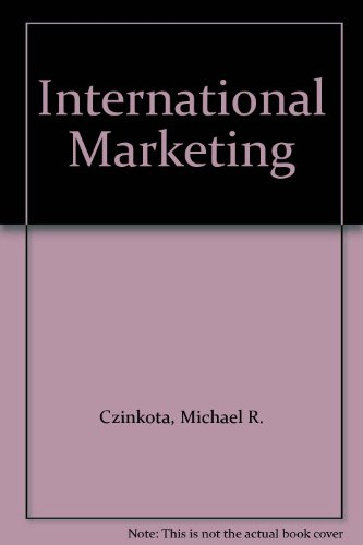 9780030313790: International Marketing