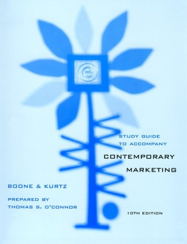 9780030314049: Contemporary Marketing (Study Guide) Edition: tenth