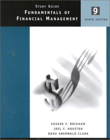 9780030314636: Fundamentals Of Financial Management Study Guide
