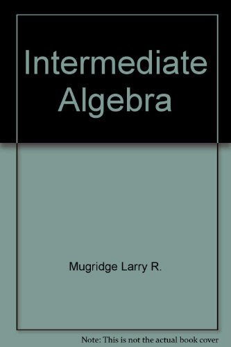 9780030315879: Intermediate Algebra