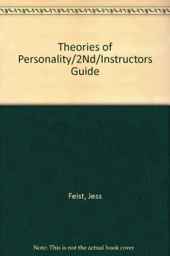 9780030316340: Theories of Personality/2Nd/Instructors Guide