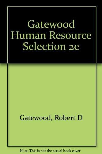 9780030316593: Human Resource Selection