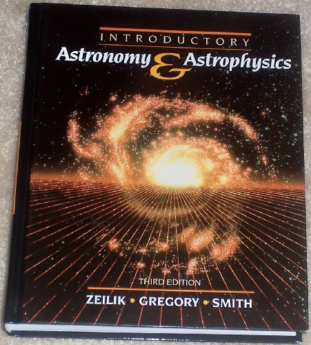 9780030316975: Introductory Astronomy and Astrophysics