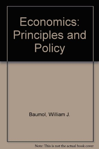 9780030317194: Economics: Principles and Policy