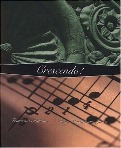 9780030318238: Crescendo!: A Thematic Approach to Intermediate Italian Language