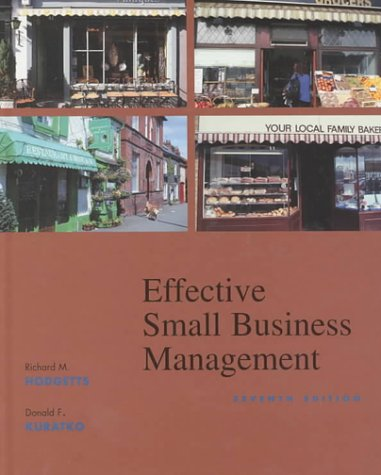 9780030319396: Effective Small Business Management