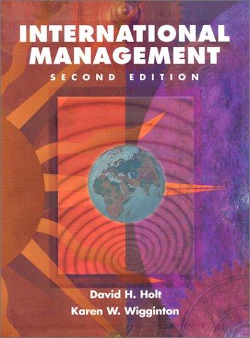 9780030319624: International Management (Harcourt College Publishers Series in Management)