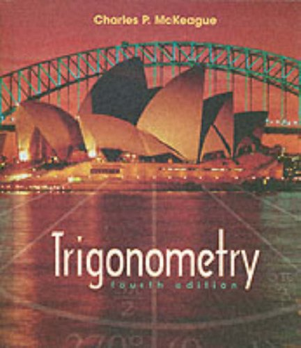 9780030321023: Trigonometry (with Digital Video Companion)