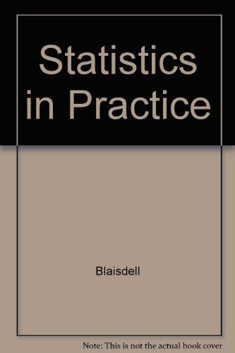 9780030322273: Statistics in Practice