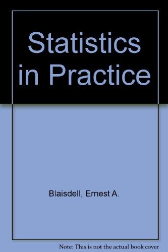 9780030322297: Statistics in Practice