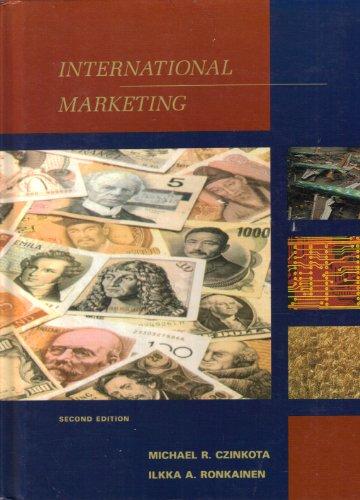 9780030322396: Czinkota International Marketing 2e
