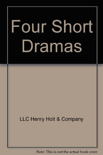 9780030323928: Elements of Drama: A Study Guide to Four Short Dramas