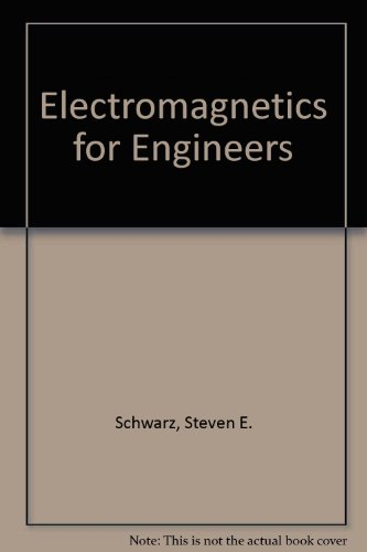 9780030324598: Electromagnetics for Engineers: International Student Edition