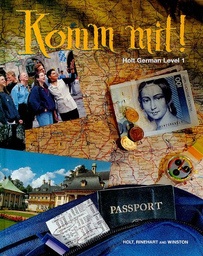 9780030325199: Komm Mit!: Holt German Level 1