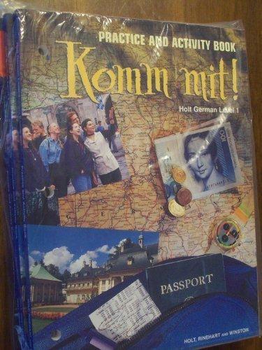 9780030325243: Komm Mit!: Practice Activities Level 1