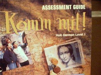 9780030325274: Komm mit!: Holt German Level 1: Assessment Guide
