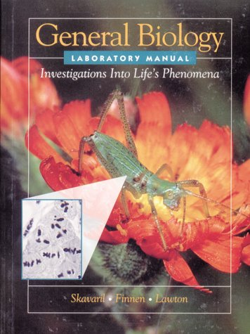 9780030326127: General Biology Laboratory Manual for Solomon's Biology (Investigations of Life's Phenomena)