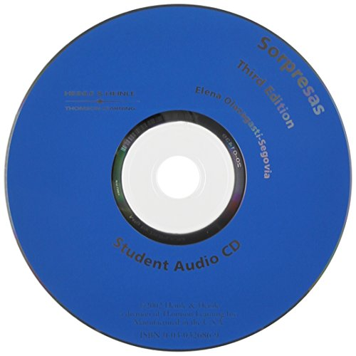 9780030326868: Audio CD for Sorpresas, 3rd