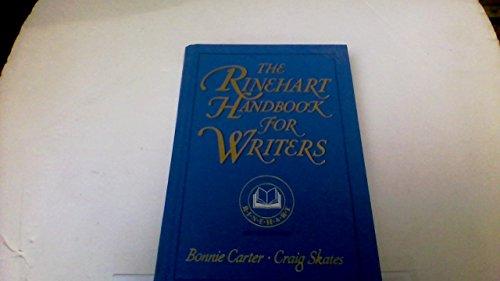 9780030327445: The Rinehart handbook for writers