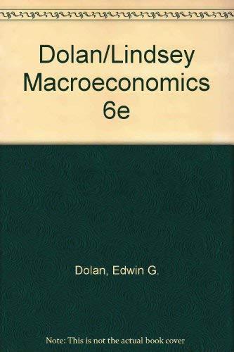 9780030328923: Macroeconomics (The Dryden Press series in economics)