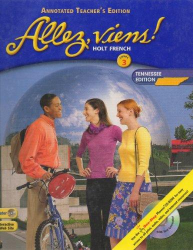 9780030329012: Allez, Viens! Level 3 (Teacher's Edition)
