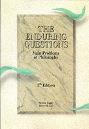 9780030329494: The Enduring Questions: Main Problems of Philosophy