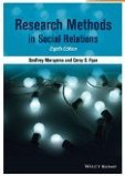 9780030329777: Research Methods in Social Relations