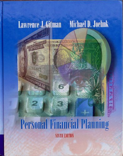 9780030330018: Personal financial planning