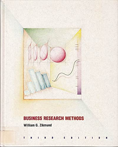 Business Research Methods: Zikmund, William G