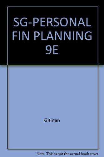 9780030331619: SG-PERSONAL FIN PLANNING 9E