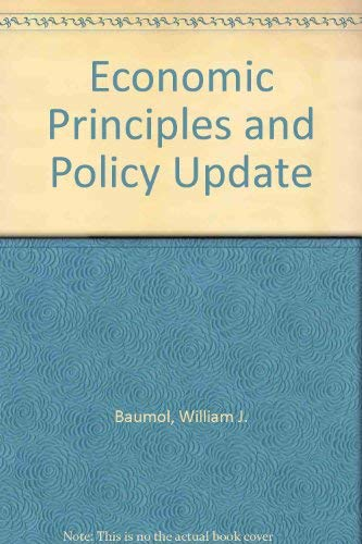 9780030332333: Economic Principles and Policy Update