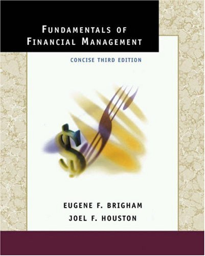9780030332630: Fundamentals of Financial Management: Concise Edition with Student CD-ROM