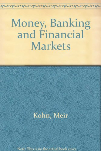 9780030333347: Money, Banking and Financial Markets