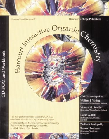 9780030334818: Interactive Organic Chemistry CD-ROM, Version 2.0 (with Workbook)