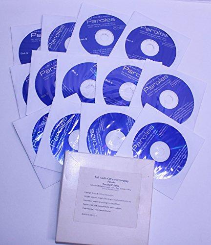 9780030335228: Lab Audio Cds to Accompany Paroles 2nd Edition