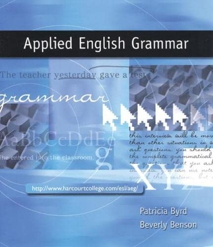 9780030335280: Applied English Grammar