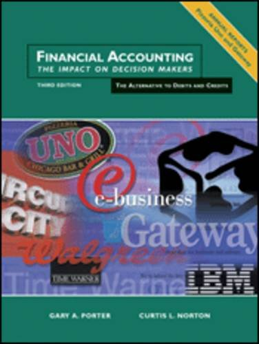 9780030335631: Financial Accounting: The Impact on Decision Makers, An Alternative to Debits and Credits