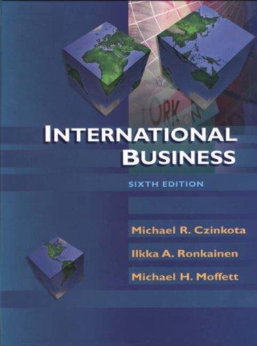9780030335648: International Business, 6th Edition