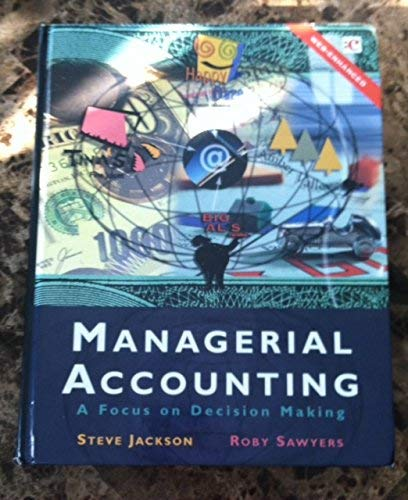 9780030336515: DC: Managerial Accounting