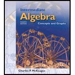 9780030336645: Intermediate Algebra: Concepts and Graphs