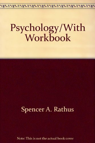 9780030337024: Psychology/With Workbook